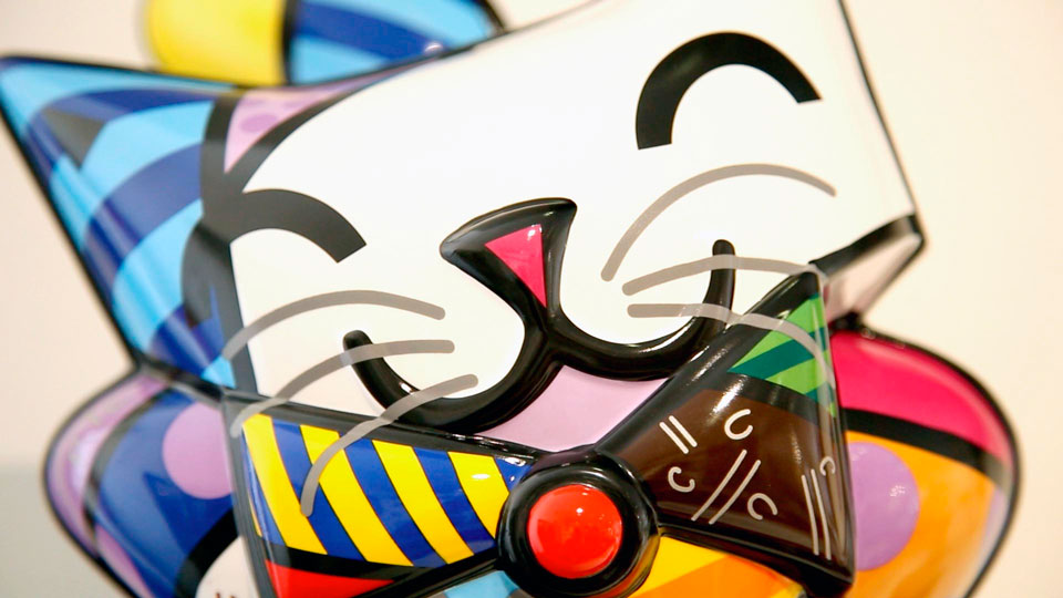 <i>Romero Britto</i><span>Sculptures</span>